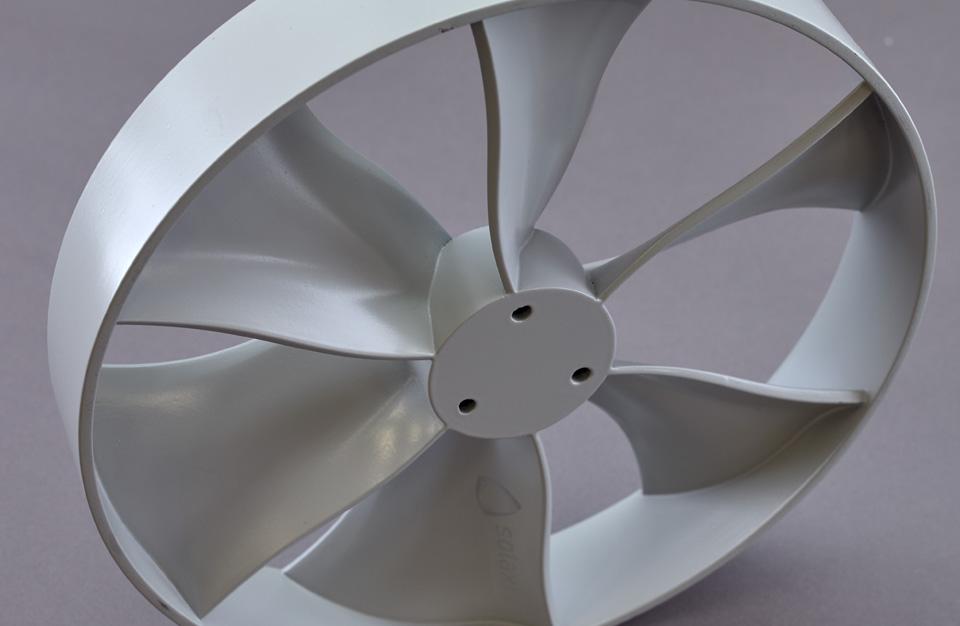 Medical ventilation fins